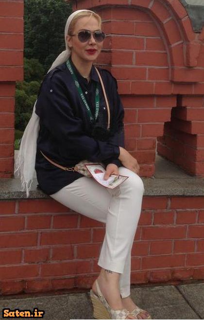 خالکوبی روی پای آنا نعمتی
