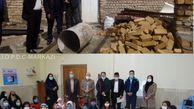 تعدادی از کارکنان و خیرین منطقه استان مرکزی با فرزندان معنوی خود ملاقات کردند.
