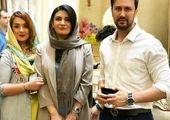 عکسی از لیندا کیانی در کنار نوید محمد زاده و امین حیایی