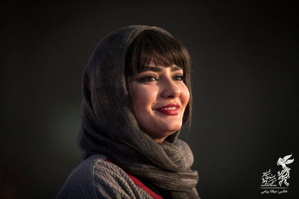 چهره جدید خانم بایگر در جشنواره فیلم فجر+ عکس