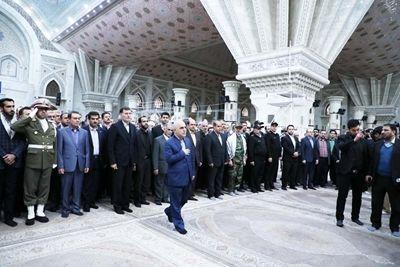مدیر عامل و مدیران بانک رفاه با آرمانهای امام و انقلاب تجدید میثاق کردند
