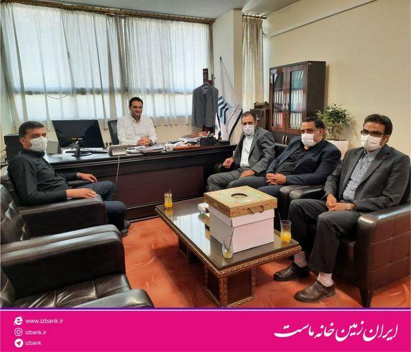دیدار معاون منطقه ای بانک ایران زمین با مدیران گروه ساختمانی انتخاب