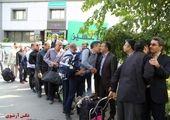 اهدای نخستین تندیس پویش دوشنبه های ورزشی به شهردار منطقه ۱۳