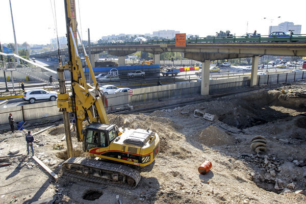 ازسرگیری پروژه احداث زیرگذر کوی نصر