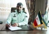 تجلیل از فعالان عرصه امنیت و سبز پوشان نیروی انتظامی در منطقه۱۳