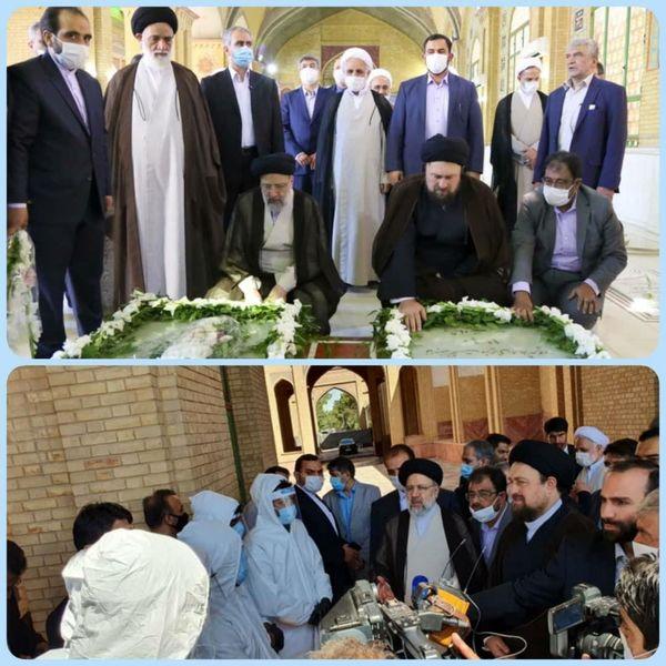 تقدیر رئیس قوه قضاییه از پرسنل سازمان بهشت زهرا(س) و آرامستان های کشور و کلیه نیروهای جهادی
