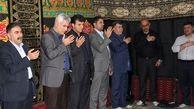 مراسم سوگواری و عزاداری حضرت امام حسین(ع) به مناسبت اربعین در پستبانکایران برگزارشد