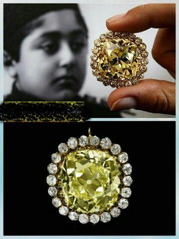 الماس لاکچری احمدشاه قاجار +عکس