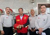برگزاری مراسم تقدیر از آتش نشانان در منطقه 7