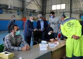 راهاندازی مرکز واکسیناسیون تجمیع کووید-19 در قلب طهران
