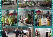 چتر های رنگارنگ، سقف بازارچه شهرستانی در منطقه ۱۳ می شود