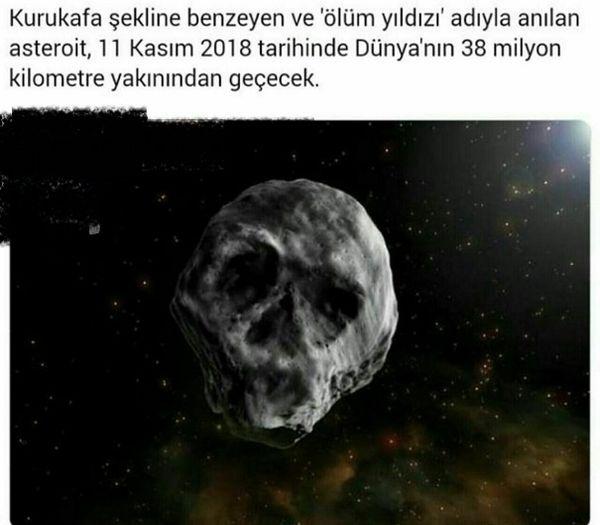 شهاب سنگی که به ستاره مرگ معروف است+عکس