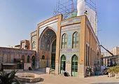 تکمیل سقف زیرزمین مسجد تاریخی ارک تهران