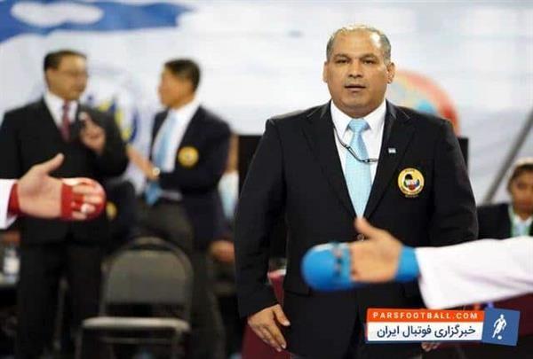 سلیمی یکی از 12 داور کاراته بازیهای ساحلی جهانی