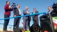 مخزن 20 هزار مترمکعبی داماهی در شهر بندرعباس افتتاح شد