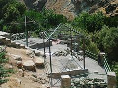 تکمیل فاز دوم آلاچیق های پارک کوهستانی درکه