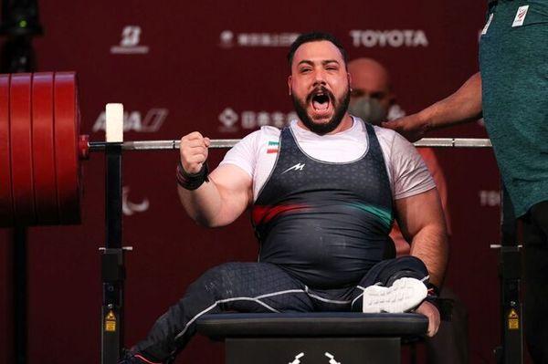 رستمی نخستین مدال طلای پارالمپیک ایران را گرفت