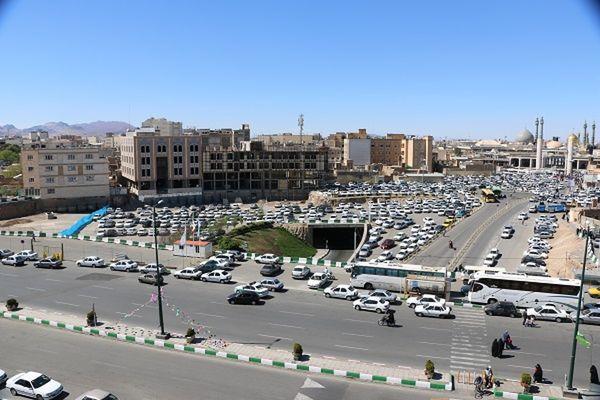 مطالعات ترافیکی بست شرقی حرم مطهر حضرت معصومه(س) توسط سرمایهگذار درحال انجام است