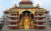 بزرگ ترین مجسمه بودا به وزن 600 تن+عکس
