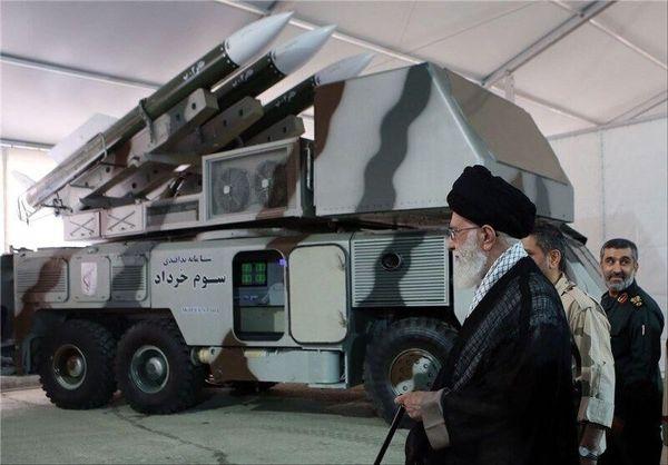 ابلاغ سلام مقام معظم رهبری به کارکنان پدافند هوایی