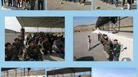 اعزام بسیجیان منطقه۹ به پادگان شهید انارکی
