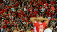 حضور هواداران معترض پرسپولیس مقابل باشگاه + عکس