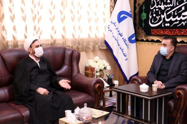 دیدار رییس کل دادگستری استان و دادستان قم با رییس دانشگاه علوم پزشکی