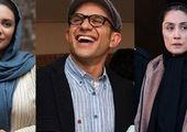 فائزه هاشمی و حامد بهداد در اکران فیلم مارموز +عکس