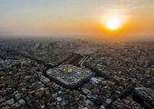برج میلاد سیاه پوش شد