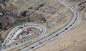 جاده جذاب اما خطرناک ایران + عکس