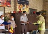 تقدیر از پرسنل واحد ایمنی و آتش نشانی مجتمع معدنی چادرملو