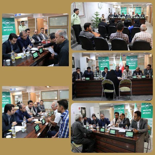 معاونت شهرسازی و معماری میزبان  ملاقات مردمی نود و هفتم منطقه9