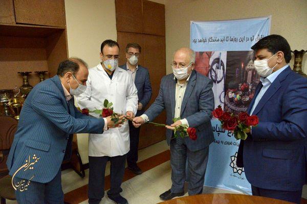 سردیس شهید سلامت دکتر پیروی در بیمارستان آیت الله طالقانی نصب می شود