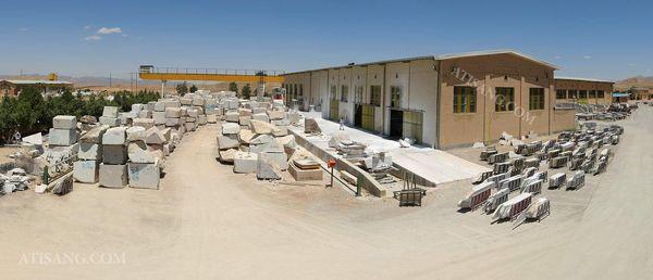 آشنایی با یکی از بزرگترین مراکز تولید سنگ های ساختمانی در ایران