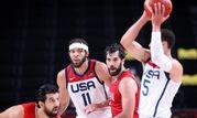 شکست بسکتبال ایران از آمریکا