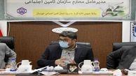 نشست کمسابقه سرپرست سازمان تامین اجتماعی با مدیران شرکتهای تابعه شستا در خوزستان