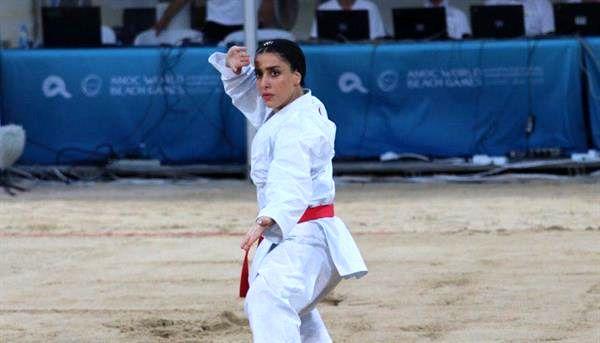 کسب مدال نقره توسط فاطمه صادقی در بازیهای ساحلی