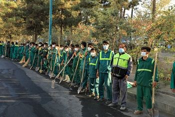 اجرای طرح ویژه نگهداشت شهر درمنطقه2