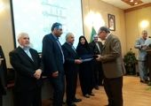 ذوب آهن اصفهان لوح سپاس روابط عمومی برتر در رشته اطلاعرسانی کرونا را کسب کرد