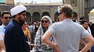 پاسخ به سئوالات پر تکرار گردشگران بینالمللی در حرم حضرت معصومه(س)