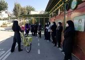 پیشرفت مطلوب احداث مسیر دوچرخه سواری در معابر شمال شرق تهران