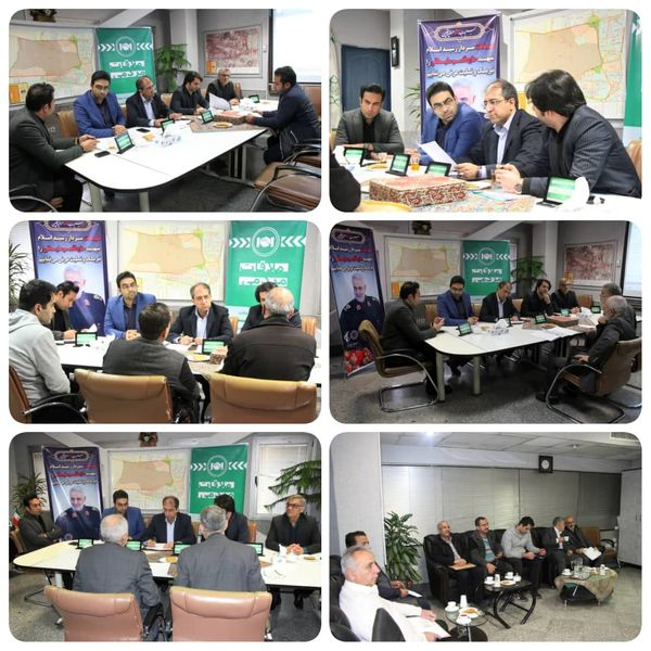 یکصد و دهمین ملاقات مردمی شهردار منطقه۹ در معاونت شهرسازی و معماری