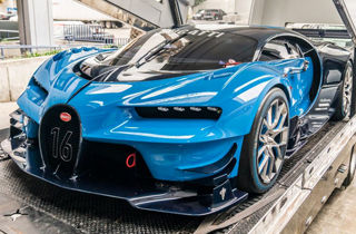 خودروی ۲۰۰ میلیارد تومانی بوگاتی در نمایشگاه ژنو!+ عکس