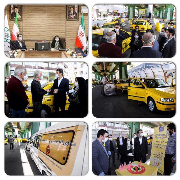 بازدید عضو شورای شهر تهران از روند اجرای طرحهای مقابله با کرونا در سازمان تاکسیرانی