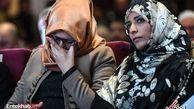 عکس/ اشکهای نامزد خاشقجی در مراسم یادبودش
