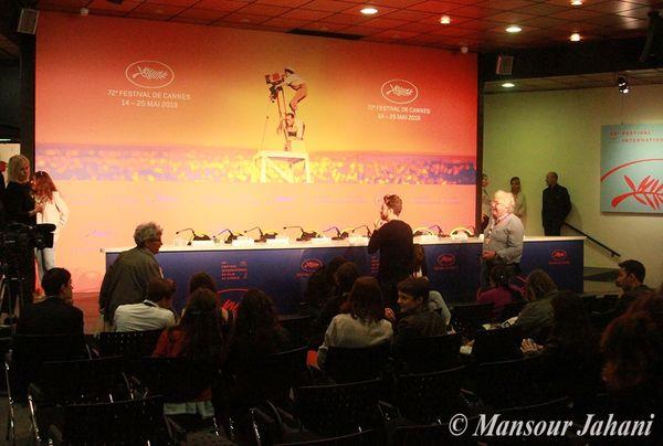 نشست خبری جشنواره بینالمللی فیلم «کن» فرانسه به تعویق افتاد