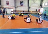 فینال نخستین دوره مسابقات والیبال ساحلی بانوان شهر تهران در منطقه ۱۶