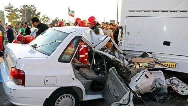 افزایش آمار تلفات ناشی از تصادفات در ۵ ماه امسال