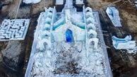 شهر یخی آب شد+ عکس
