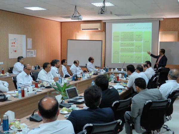 آموزش اصول و مفاهیم حسابرسی داخلی به مدیران پتروشیمی پارس
